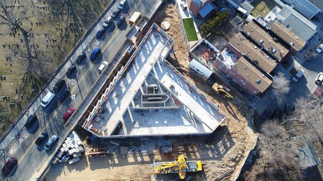 Construction Progress March 2021