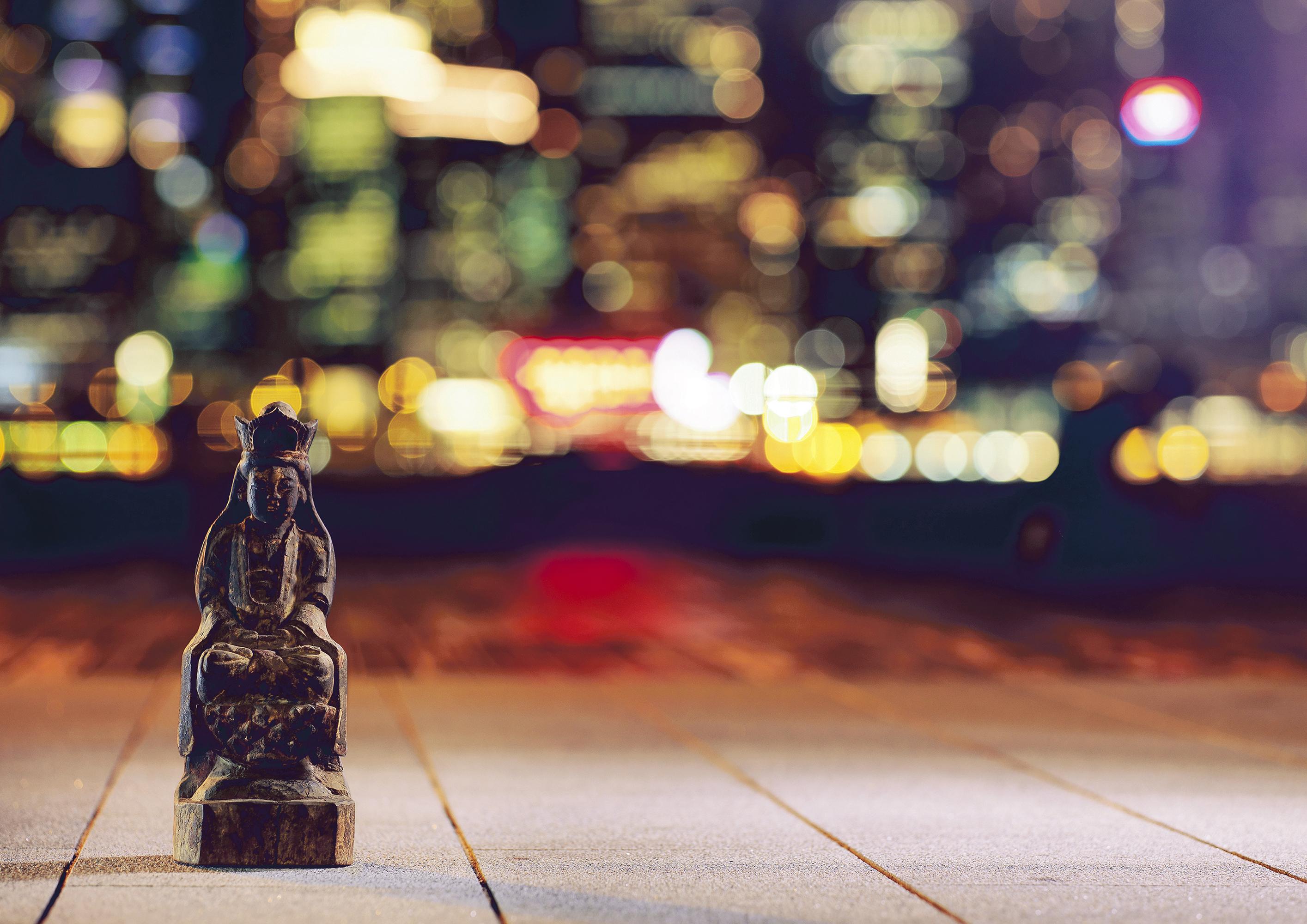 Buddha in City