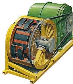 permanent magnt motor prototype