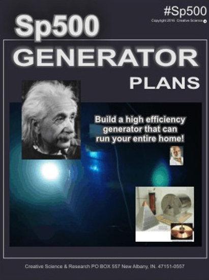 SP500 AC Generator Plans