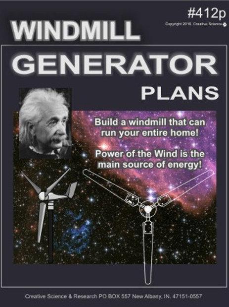 DIY Windmill Plans