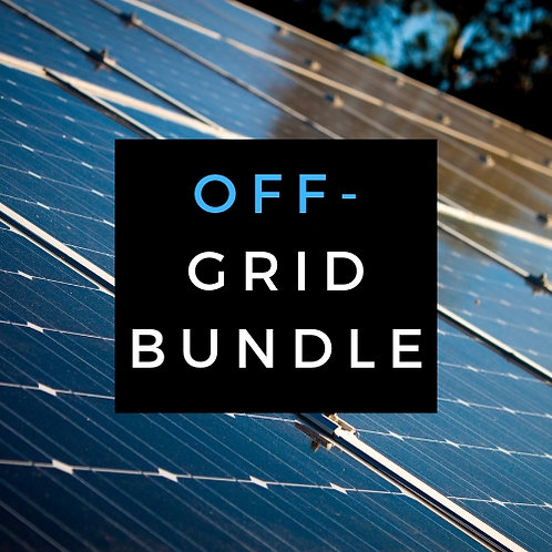 Go Off-Grid Plans Bundle