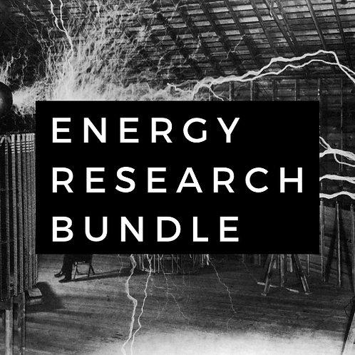 Free Energy Experiment Plans Bundle