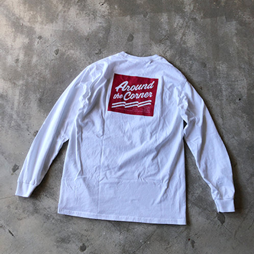 ATC NEW LOGO POCKET L/S TEE-WH