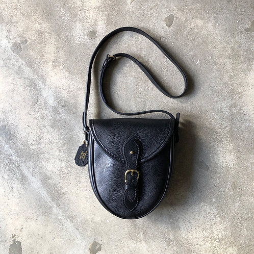 BRICK Satchel Bag/BLACK
