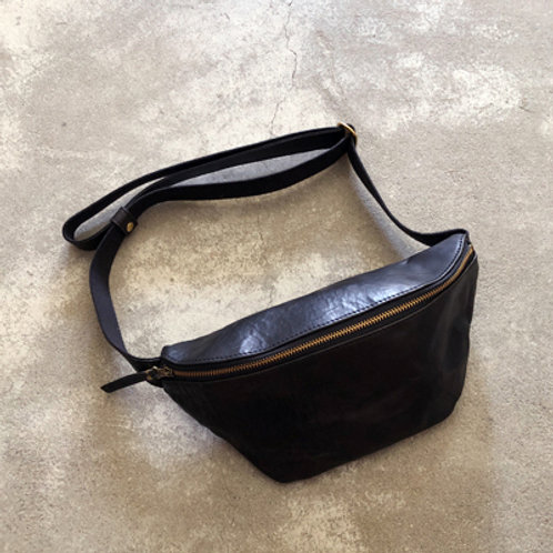 SLOW NARROW FANNY PACK-BK