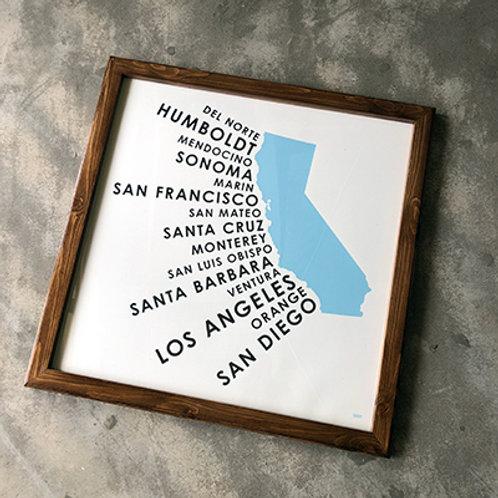 ORANGE & PARK CALIFORNIA COASTAL COUNTIES(BL)-BR