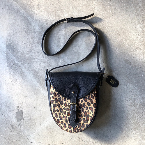 BRICK Satchel Bag/LEOPARD