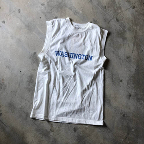 JACKSON MATISSE WASHINGTON SLEEVELESS TEE-WH
