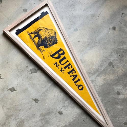 OXFORD PENNANT w/FRAME BOX TYPE-2/BUFFALO