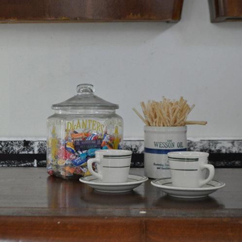DINER CUP & SAUCER SET