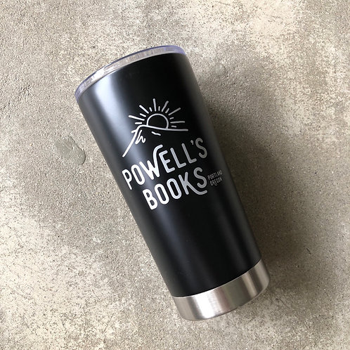 POWELL'S CITY OF BOOKS DOUBLE WALL TUMBLER