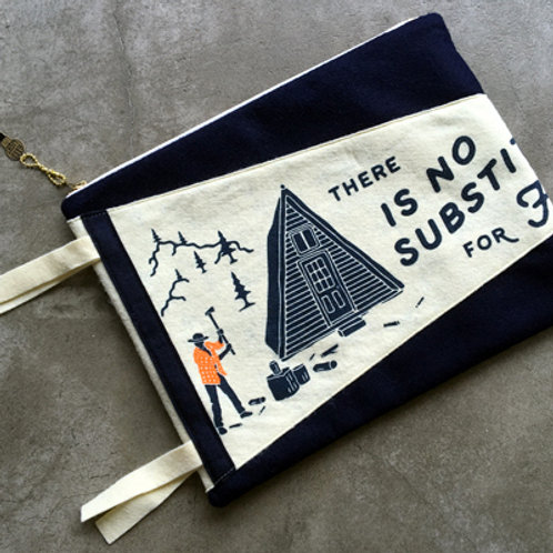 OXFORD PENNANT x HAND LIGHT POUCH-CAMP