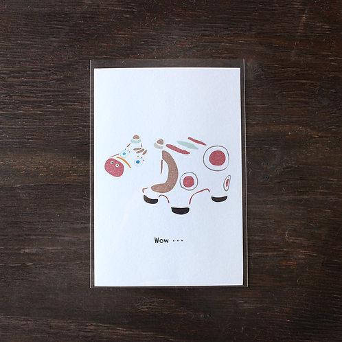 【ポストカード】赤べこ