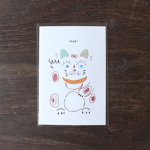【ポストカード】招き猫