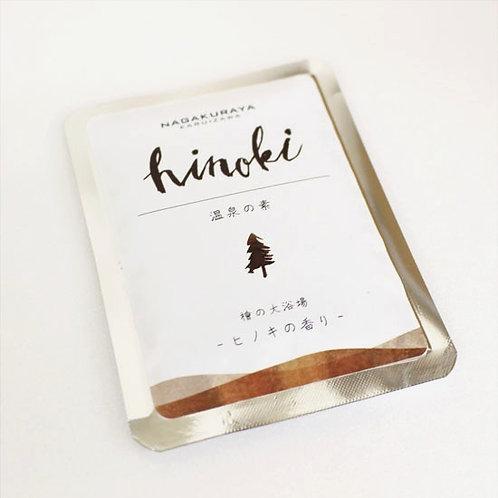 信州温泉の素 ヒノキの香り