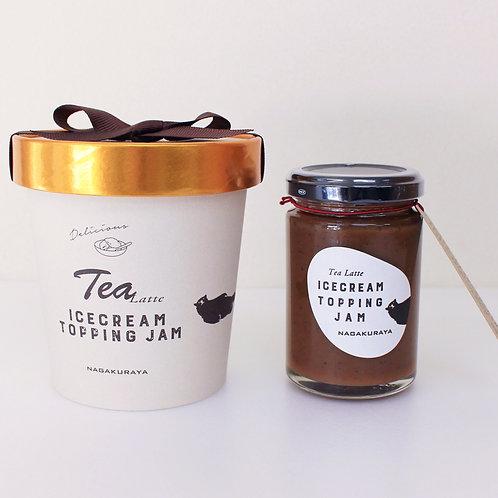アイスクリームトッピングジャム(BOX)  ティーラテ味*