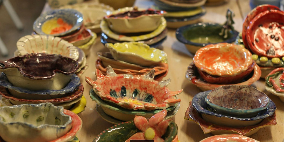 Holy Redeemer Bowl Painting Workshop