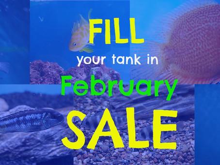 Fish Sale starts tomorrow!