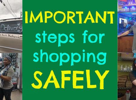 SHOP SAFELY!