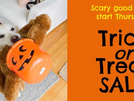 Trick or Treat SALE starts Thursday!