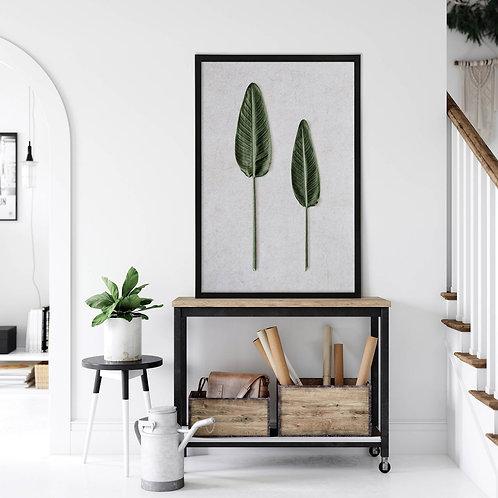 Tropical Leaves Wall Art | Single Print 9