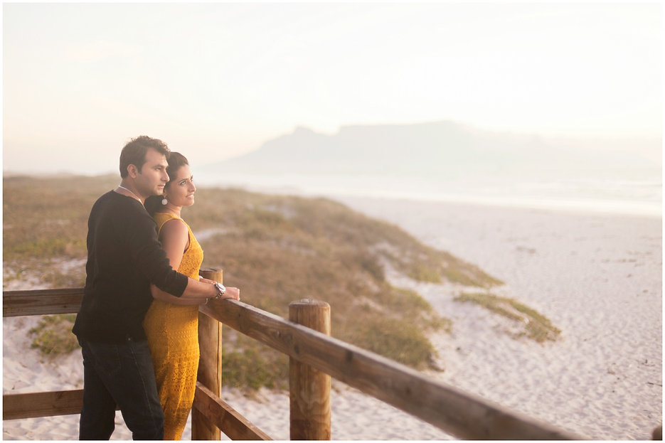 couple enjoying the view during couple shoot