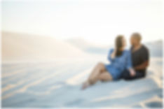 couple shoot in desert, dunes, atlantis dunes, atlantis
