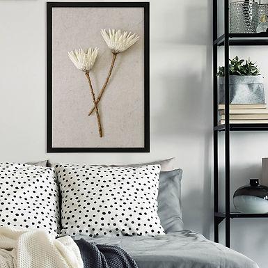 White King Protea Wall Art | Single Print 10
