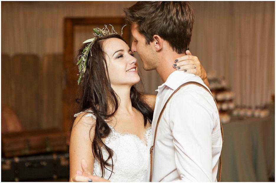 boho bride first dance