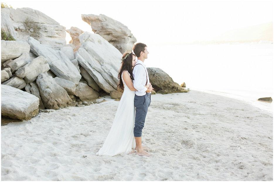 west coast national park, geelbek restaurant langebaan wedding on the beach