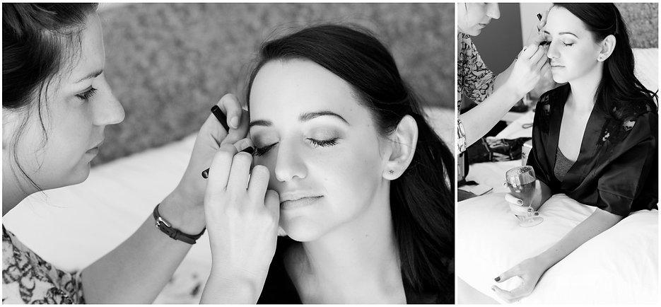 marli kriel wedding bridal make up