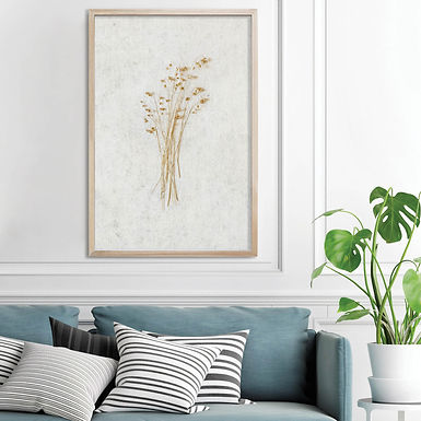 Dried Botanicals Wall Art Print 5