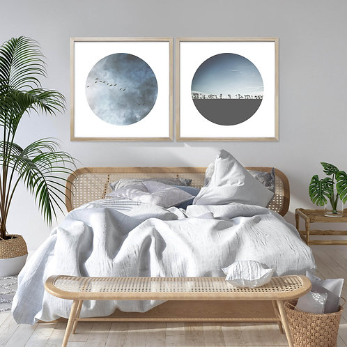 Heart In The Sky Print Set | Collection 1