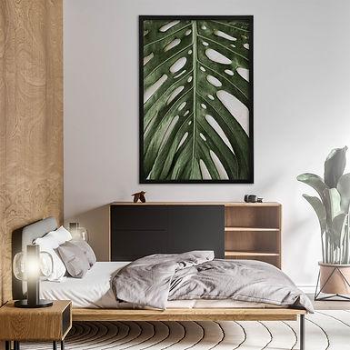 Tropical Leaves Wall Art | Single Print 3