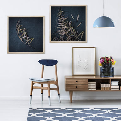 Moody Leaves Print Set | Collection 4