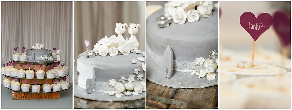 geelbek restaurant wedding cake
