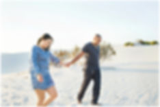 couple walking on dunes, atlantis dunes, couple shoot, engagement shoot, sand dunes