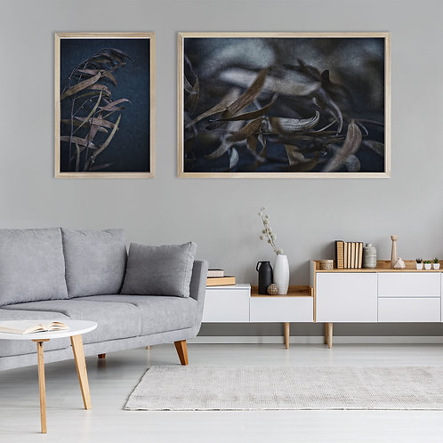 Moody Leaves Print Set | Collection 6
