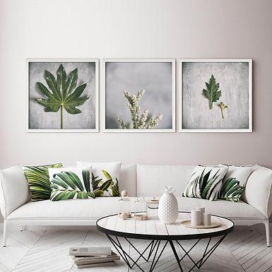 Green & Grey Print Set | Collection 5