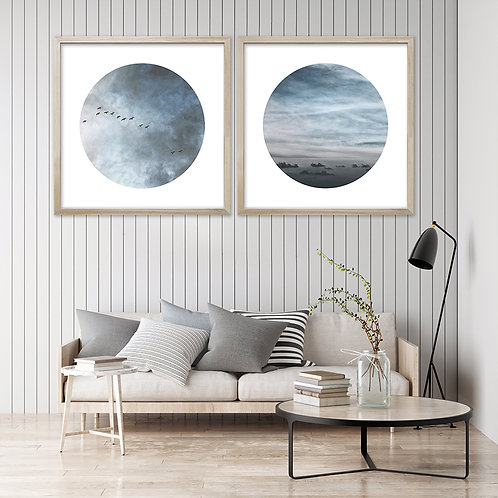 Heart In The Sky Print Set | Collection 2