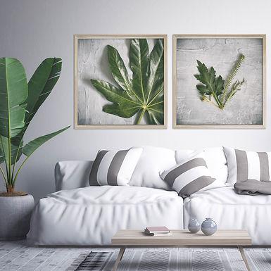 Green & Grey Print Set   Collection 3