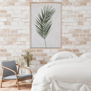 Tropical Leaves Wall Art | Single Print 14