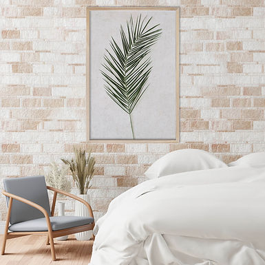 Tropical Leaves Wall Art | Single Print 14