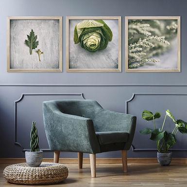 Green & Grey Print Set   Collection 2