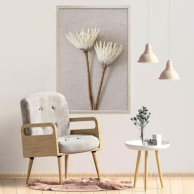 White King Protea Wall Art   Single Print 11