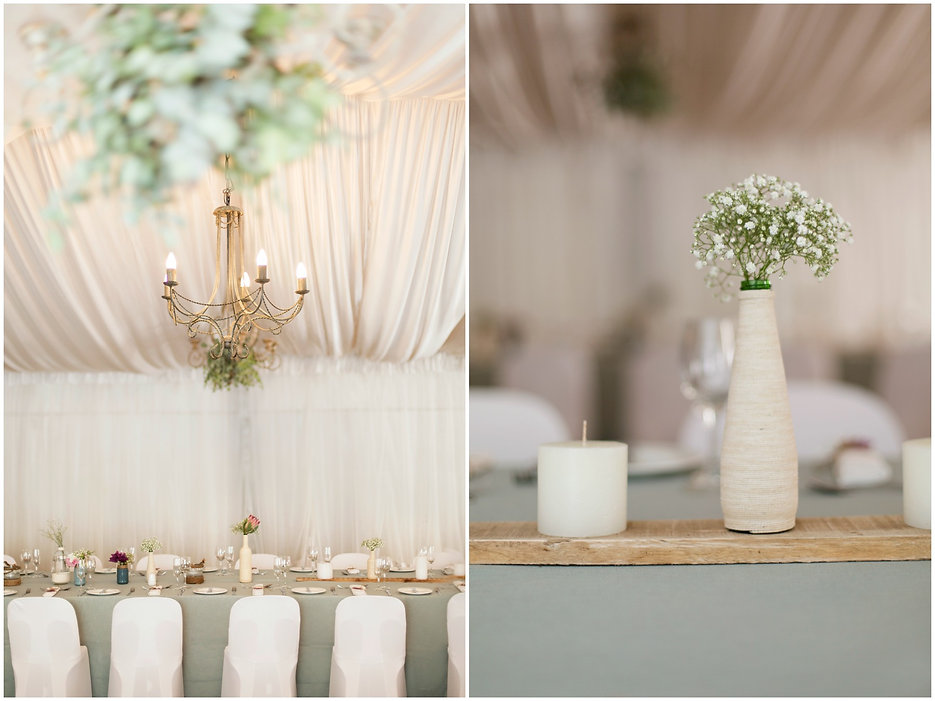 diy wedding decor, bottles covered with twine