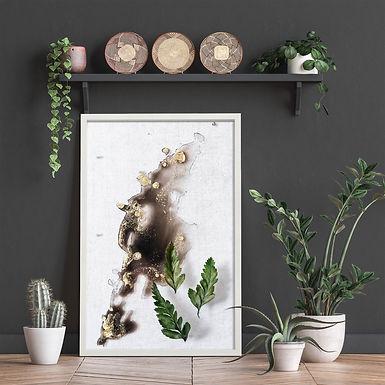Abstract Nature Wall Art Print 4