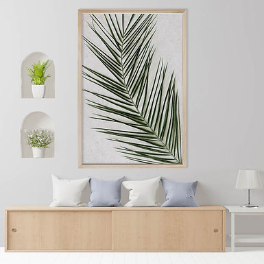 Tropical Leaves Wall Art | Single Print 13
