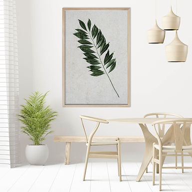 Tropical Leaves Wall Art   Single Print 11